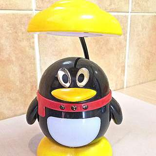 Little Penguin with LED Table Light