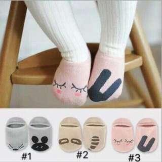 Baby foot socks