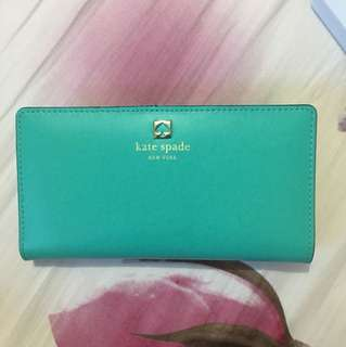 Kate Spade Wallet (Tiffany Blue)
