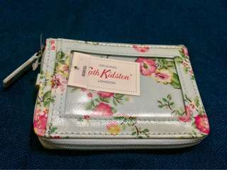 Cath Kidston Zipped Travel Purse in Blue
