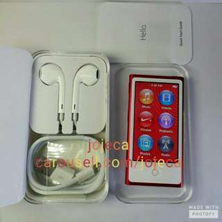 iPod Nano (Red) Special Edition 16GB Authentic USA