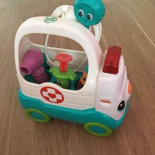 Leap frog ambulance / doctor kit toy