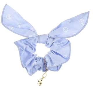 Japan Disneystore Disney Store Donald Duck Marine Ribbon Hair Decoration Scrunchie
