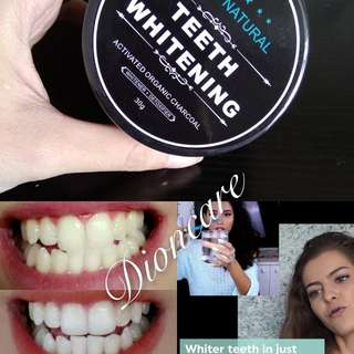For teeth whitening