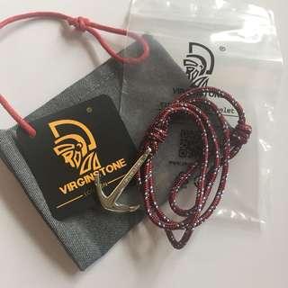 Virginstone 船錨 手繩 手鏈 全新 有塵袋
