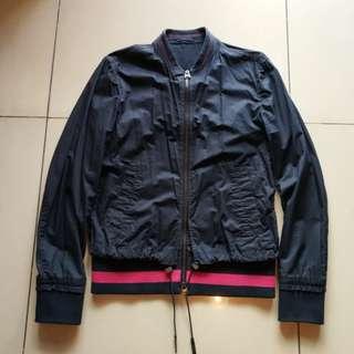 Ck Calvin Klein Navy 2-layer fashion jacket 深藍色2層時尚外套