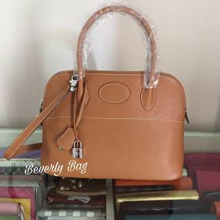jual tas H Bolide LEATHER MIRROR - camel