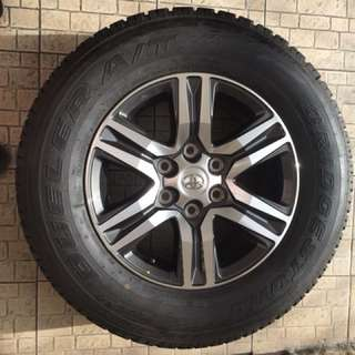Toyota Fortuner G Mags and Tires 2017