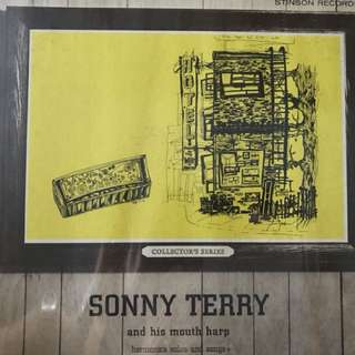 Vinyl lp Sonny Terry and his mouth harp