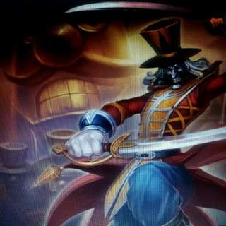 League of Legends Shaco Only Account Rare Unobtainable Skin included