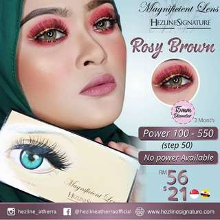 Magnificient Lens Rosy Brown