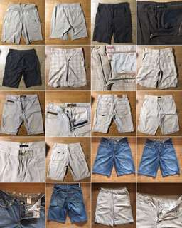 Repriced assorted Men's shorts