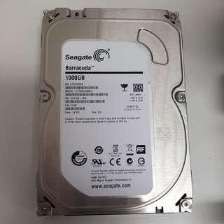 Seagate 3.5 1tb hdd