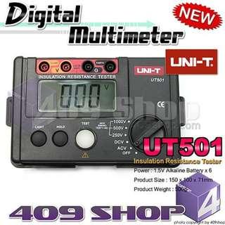 1 x UNI-T UT501絕緣電阻測試儀