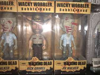 The walking dead rv walker and rick bundle