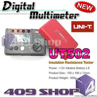 1 x UNI-T UT502 絕緣電阻測試儀