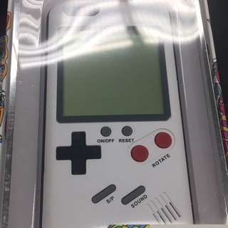 gameboy手機殼 iphone6 白色