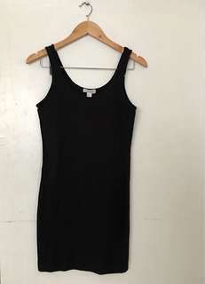 Forever 21 sando dress in black