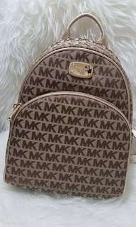 100% Authentic MK BACKPACK