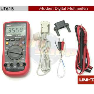 1 x UNI-T UT-61B 數字萬用表