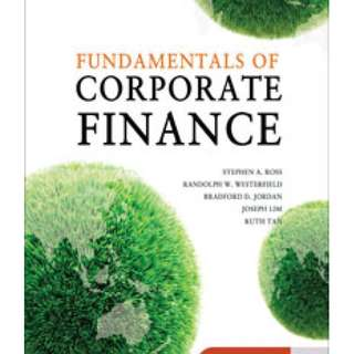 Fundamentals of Corporate Finance FNCE101