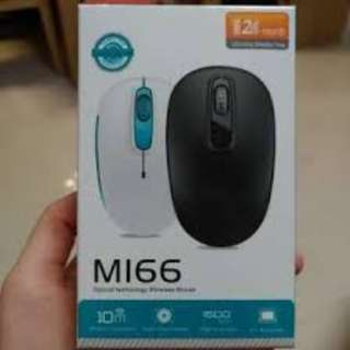 Brand new MI66 optical wireless mouse 無線滑鼠 #黑色 #Black