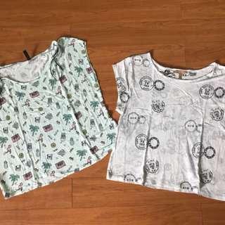 H&M and Zara tops (bundle)