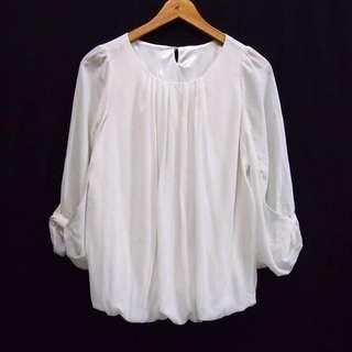 Putih gading baju premium