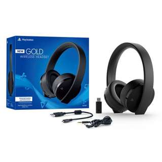 Sony CUHYA-0080 PlayStation New Gold Wireless Headset