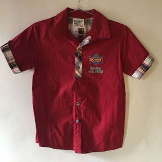 Robby Rabbit Red Polo