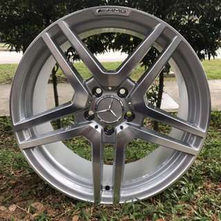 18in PCD 5-112 Rims For Mercedes Benz On Offer Sale