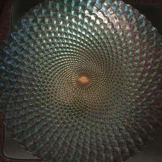 Anya Large Peacock Bowl