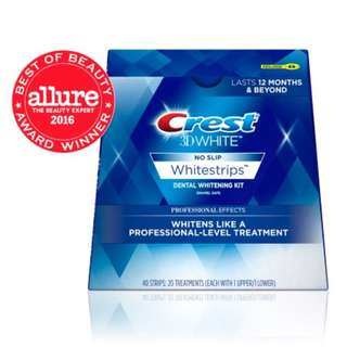 Crest 3D White Whitestrips Professional Effects Dental Whitening Kit