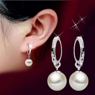 Free Mail Classic Pearl Ear Studs