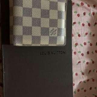 Authentic Luis Vuitton Azure Wallet