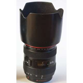 Canon 24-70 f2.8 mark i (focus motor not working)