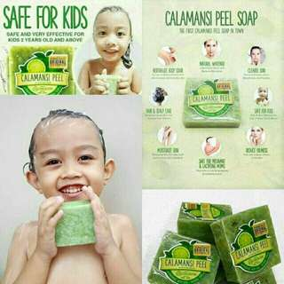 Calamansi Peel Soap and Lemon Peel Soap