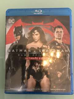全新Batman v Superman: Dawn of Justice Blu-ray