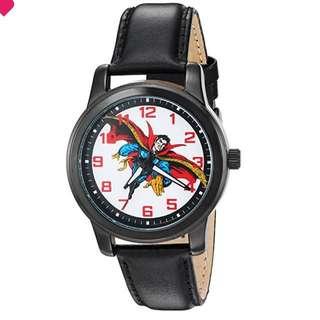 Men's 'Dr.Strange' Quartz Metal Watch, Color:Black (Model: W002862)