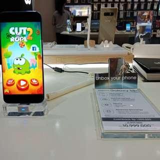 Samsung Galaxy S8+ Bisa Credit 3 Menit