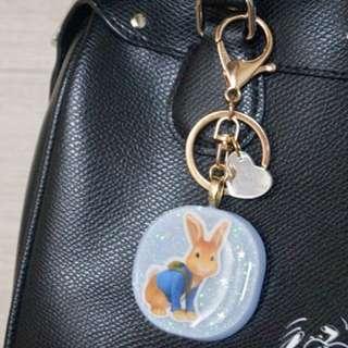 Peter Rabbit Keychain/Bagcharm