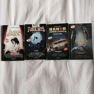 Paket Novel Horror Comedy