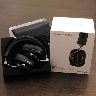 Used Bowers & Wilkins P7 Wireless Headphones