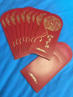 DHL 2018 Red Packets Ang Pow Angbao