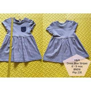H&M Stripe Dress BNEW