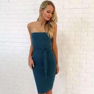 Kookai Oakley strapless dress size 1