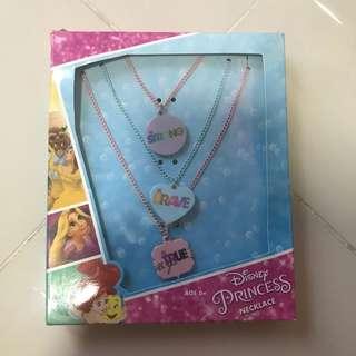 (CLEARANCE) Disney princess necklace