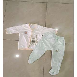Baby long sleeve shirt & pants