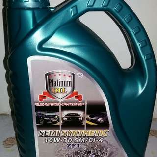 Engine Oil 4liter semi