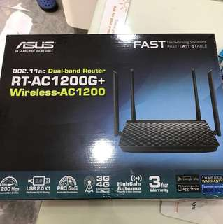 Asus RT AC1200G+ Router